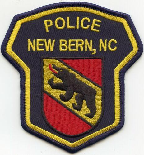 NEW BERN NORTH CAROLINA NC POLICE PATCH