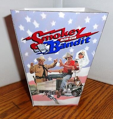 Smokey And The Bandit Popcorn Box. Burt Reynolds Jackie Gleason.......free Ship