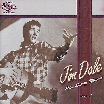 Jim Dale  -  The Early Years   [ CD Pink 'n' Black Records ]