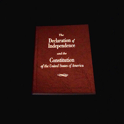 Pocket Size United States Declaration Of Independence   Constitution Of The Usa
