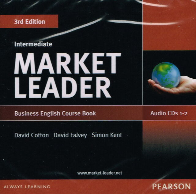 MARKET LEADER Intermediate 3RD ED Business English Course Book AUDIO CDs (2) NEW