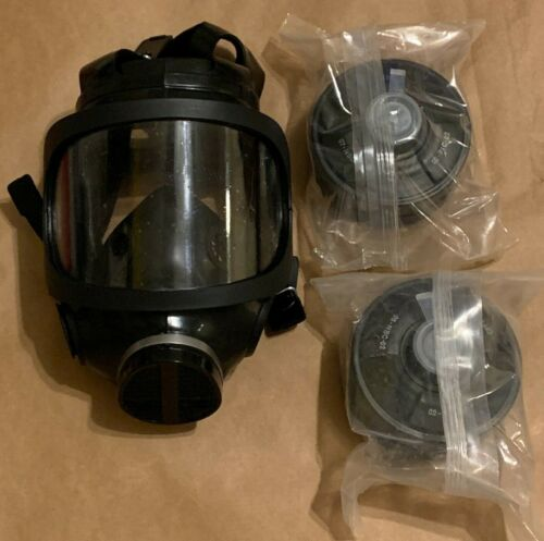Gas Masks NATO Approved Mil-Spec Masks with Two 40mm Sealed Filters BRAND NEW