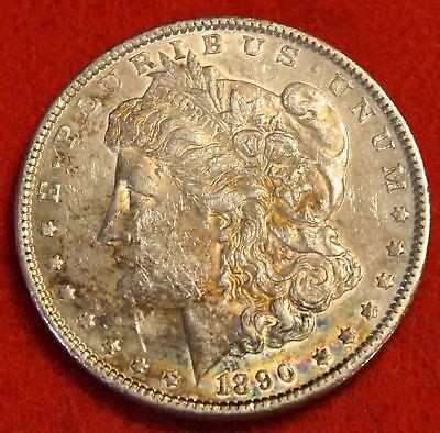 1890 P  1 Morgan Dollar 90  Silver Liberty Collector Coin Check Out Store Mg358