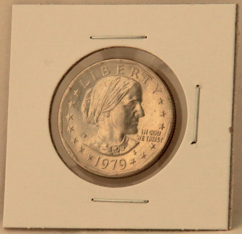 Susan B Anthony 1979 P Dollar Coin Uncirculated BU Philadelphia SBA