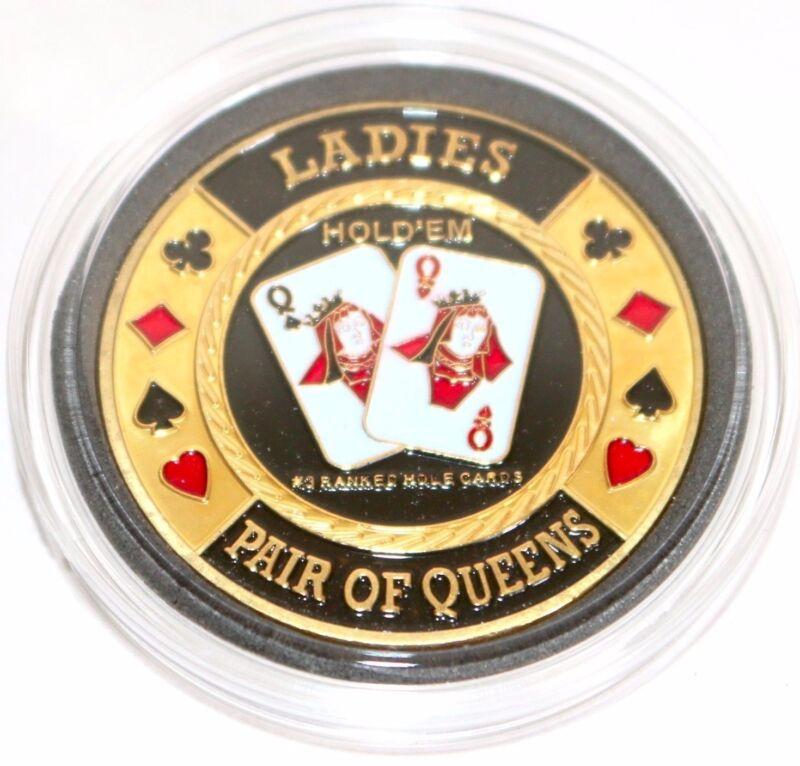 Ladies Pair of Queens Hold