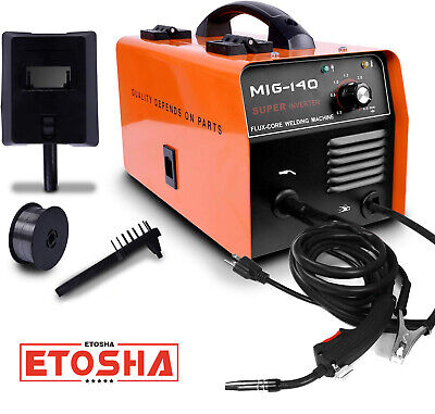 140 Mig Welder Ac Flux Core Wire Gasless Automatic Feed Welding Machine Wmask