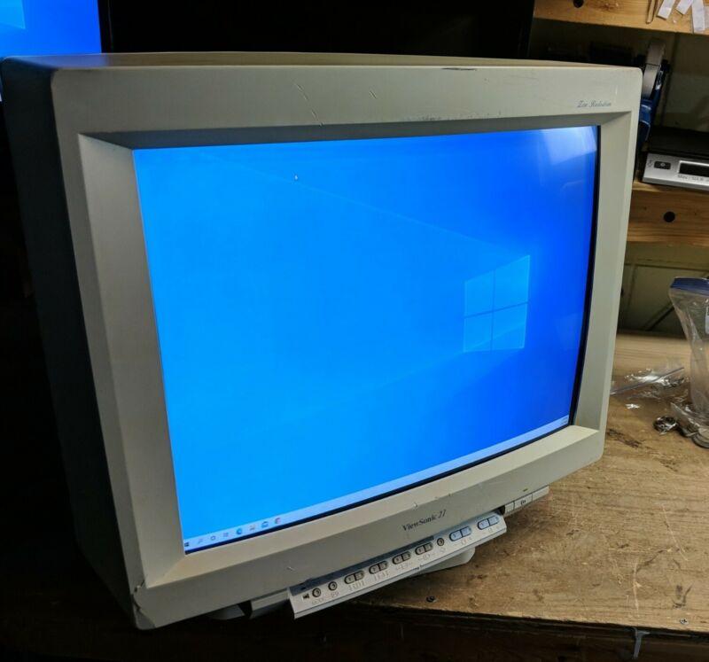 2182PS VIEWSONIC 21INCH VGA AND 5 PORT BNC