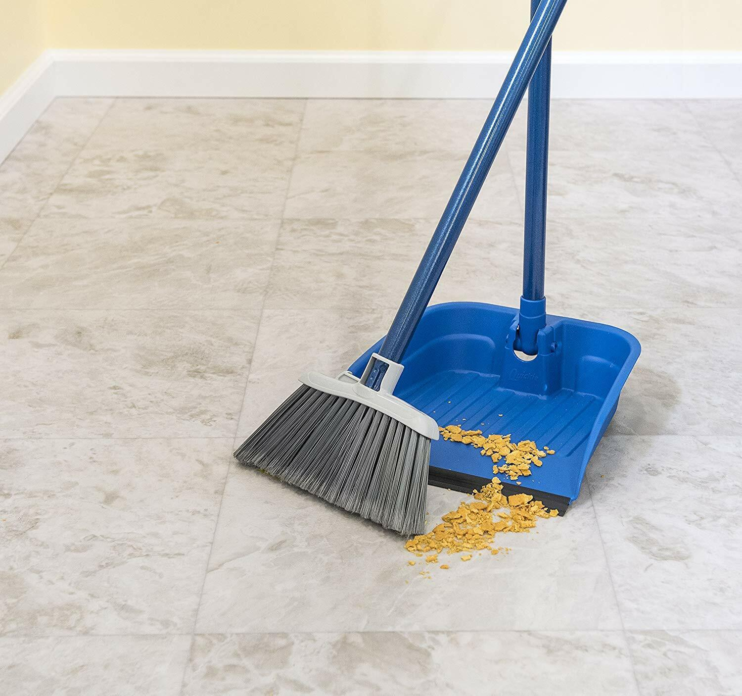 Quickie Stand Store Home Lobby Broom Dustpan Kitchen Floor