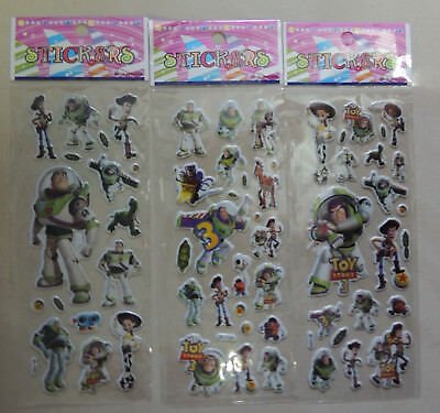 TOY STORY WOODY BUZZ LIGHTYEAR STICKER PARTY LOLLY BAG TREAT BOX FILLER GIFT ](Toy Story Treat Boxes)