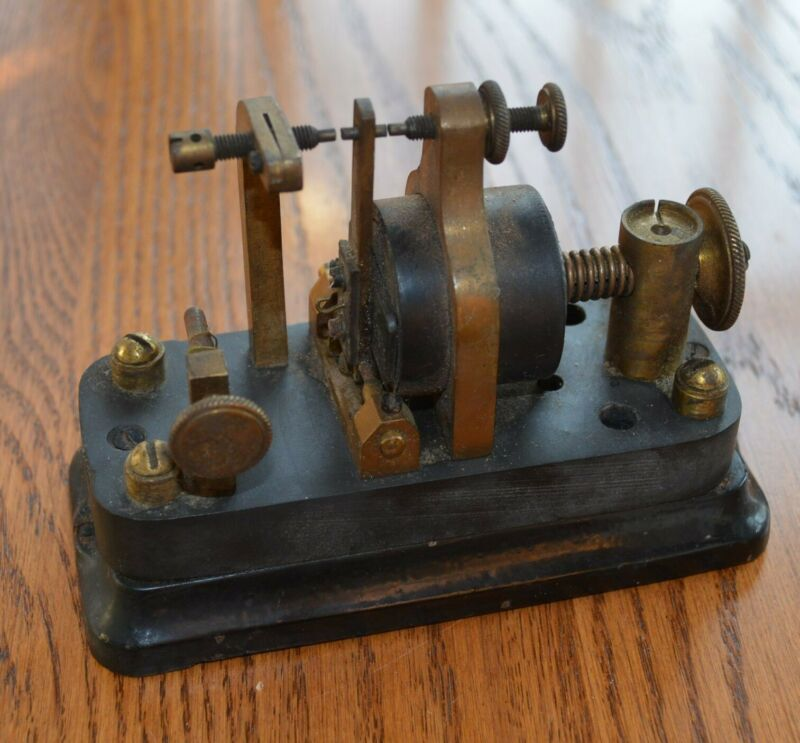 Early Cast Iron base Small Telegraph Relay