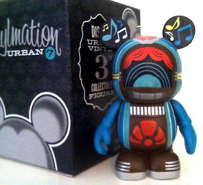 "DISNEY VINYLMATION 3"" URBAN SERIES 7 JUKEBOX MUSIC JUKE BOX MICKEY MOUSE TOY NEW"