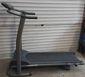 treadmill motorized exercise machine, w/ programs&manual incline