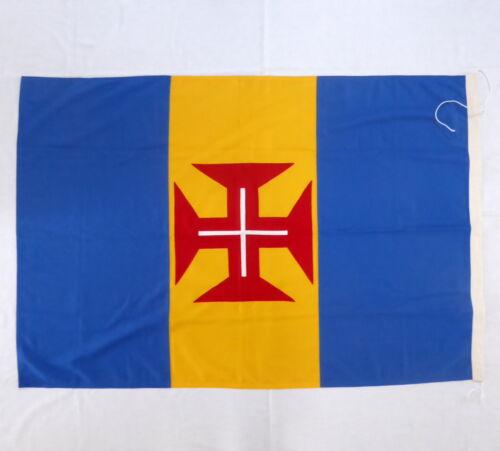 Vintage AUTONOMOUS REGION OF MADEIRA flag SOARES & SOUSA hand made