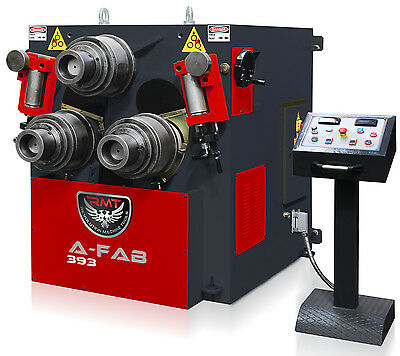 New Rmt A-fab 393 Hydraulic Angle Roll With Nc Control