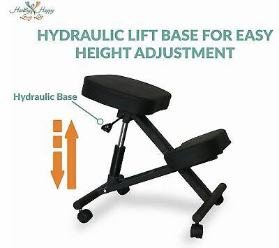 Kneeling Back Chair - Ergonomic Desk Seat For Relieving Back Neck Pain