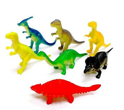 Lot of 24 pc Dinosuars 5cm Dinosaurs Boys Kids Birthday Party Favors PInata Game