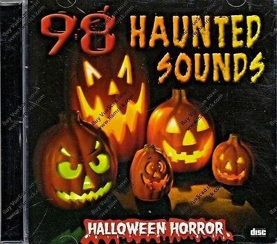 98 HAUNTED SOUNDS: 1 HOUR OF HALLOWEEN HORROR HAUNTED HOUSE & GRAVEYARD EFFECTS! ()