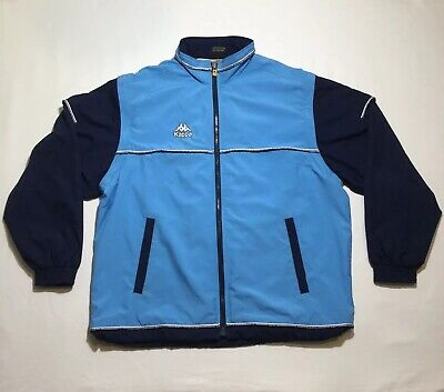 90's Vintage Kappa 2 In 1 Windbreaker Jacket/Vest XL