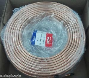 Tuberia de cobre de 1 4 15 metros tubo 0 8mm aire - Tuberias de cobre ...