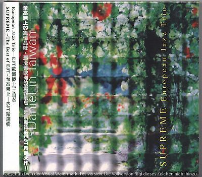 European Jazz Trio: Supreme - The best of EJT (2007) CD OBI TAIWAN ()