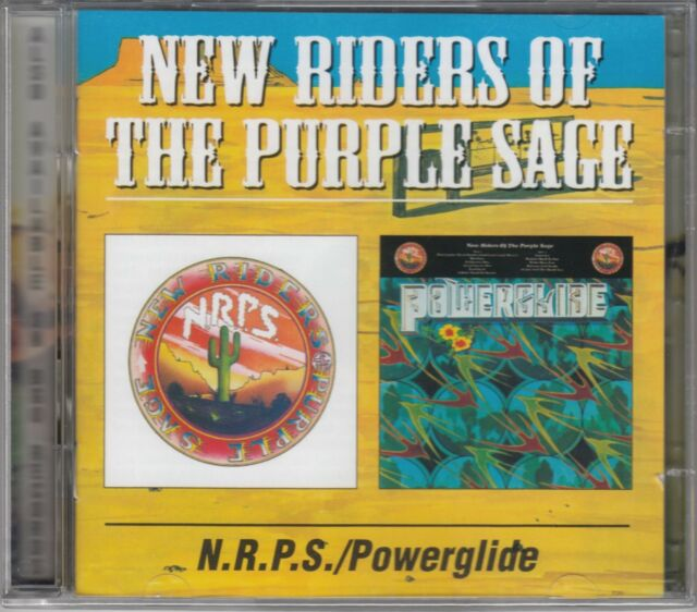 "The New Riders of the Purple Sage ""Jerry Garcia"" - N.R.P.S./Powerglide, 2CD Neu"