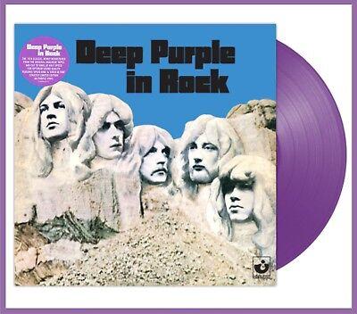 "Deep Purple ""in rock"" limited purple coloured Vinyl LP  NEU 2018 Remastered"