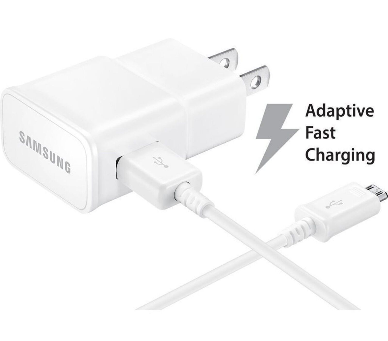 Original Adaptive Fast Micro USB Wall Charger for LG Samsung