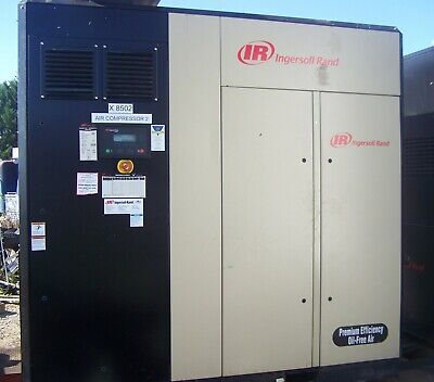 Ingersoll Rand Industrial Air Compressor Irn150 H-of 150 Hp Frequency Hz 60 Rate