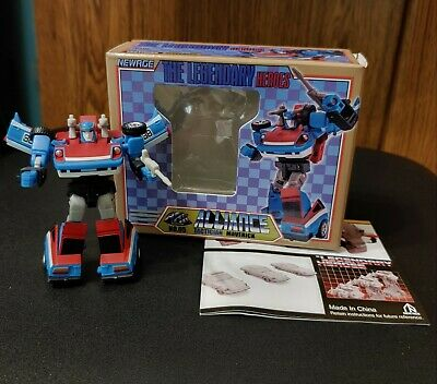 NEWAGE TRANSFORMERS LEGENDARY HEROES MAVERICK SMOKESCREEN COMPLETE