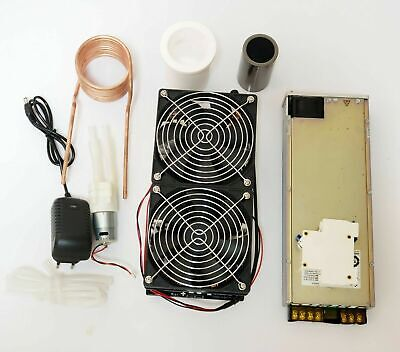 2500w Zvs Induction Heating Heater Miniature Metal Quenching Melting Furnace