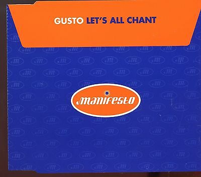 Gusto   Lets All Chant