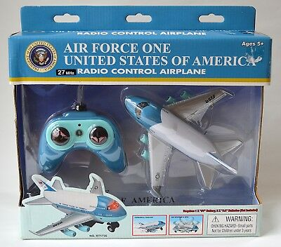 Vintage Daron Air Force One Radio Control Airplane With Original Box It Works!