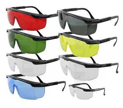 Titus G6 Safety Glasses Shooting Motorcycle Eye Protection ANSI Z87 Compliant (Shooting Eye Glasses)