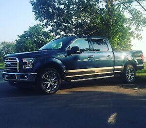 "2017 F150 20"" wheels and tires"
