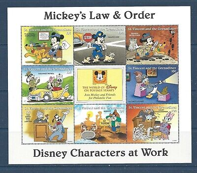 SAINT VINCENT - 2249a - MNH - 1996 - DISNEY - MICKEY'S LAW AND ORDER