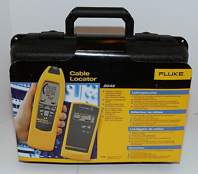 Fluke 2042 Professional General Purpose Live Or Dead Cable Locator Transmitter
