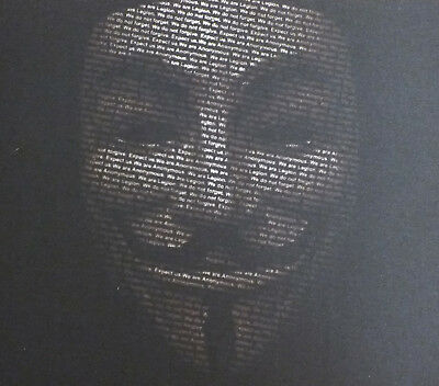 "Novelty ""V for Vendetta"" MOUSEMAT compatible with Mac iMac MacBook mouse mat pad"