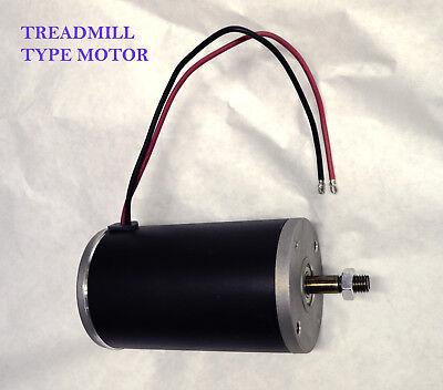 TreadMill 1 hp 12 volt electric DC permanent magnet motor generator 12mm