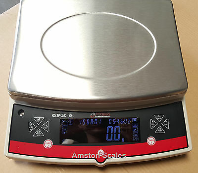 High Capacity Large 12x9 Digital Balance Scale 30000 X 0.1 Gram Counting Bench