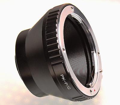Pentax PK K lens to Pentax Q mount adapter ring for Q Q10 Q7 Q-S1 cameras