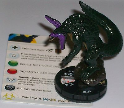 RAIJU 008 Pacific Rim Movie Wizkids HeroClix