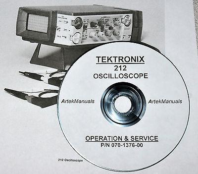 Tektronix 212 Oscilloscope Early-serial Numbers Service Manual