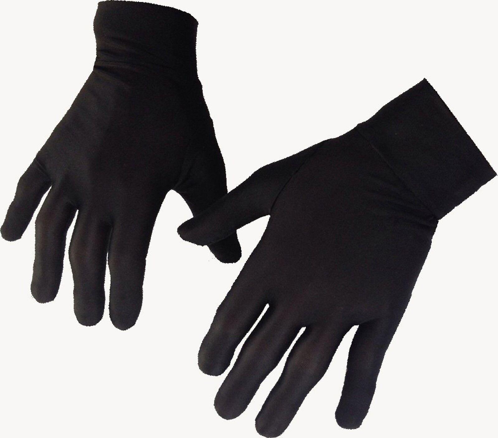 Mince soie doublure intérieur gants ski moto ski marche cyclisme