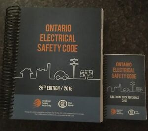 Ontario Electrical Safety Code Brand New