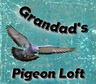 METAL SIGN GRANDADS PIGEON LOFT NOVELTY SIGN XMAS GIFT 98