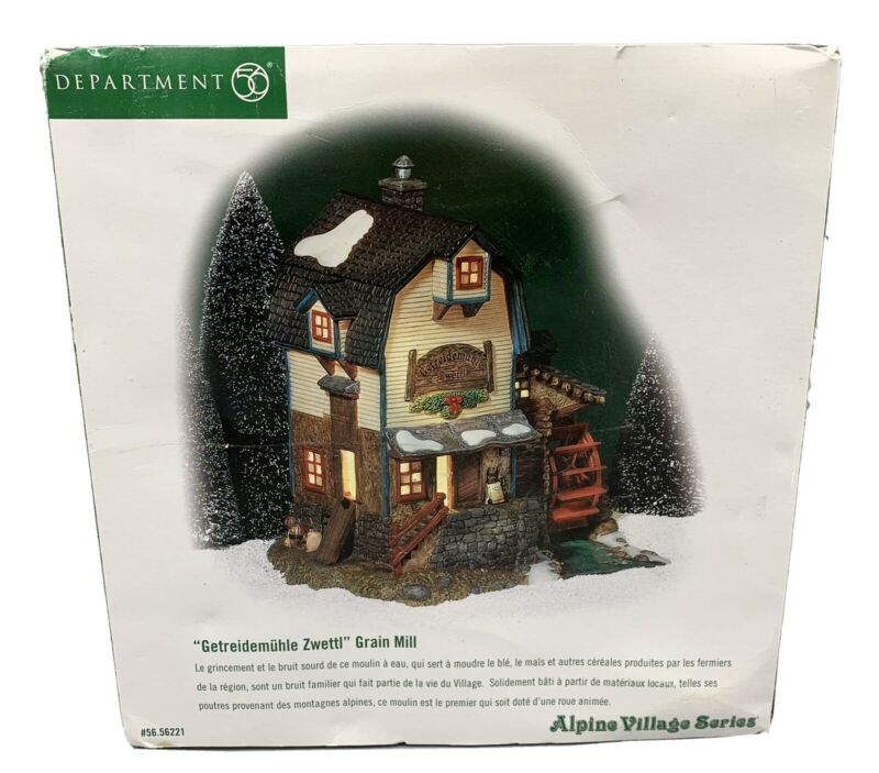 Dept 56 Alpine Village