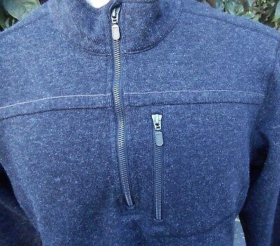 Ex Officio Wool Vest - EXOFFICIO WOOL BLEND US M'S SZ L LONG SLEEVE JACKET GRAY HIKING CAMPING