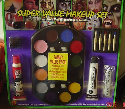 Super Value Family Costume Halloween Party Stage Play Makeup Make Up Kit - Fun Makeup Halloween Costumes