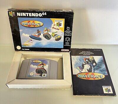 Wave Race N64 Nintendo 64 Originale Testato E Funzionante