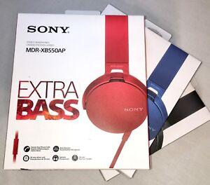 New! SONY Extra Bass On-Ear Headphones